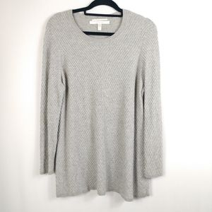 Nordstrom Cashmere Sweater Gray
